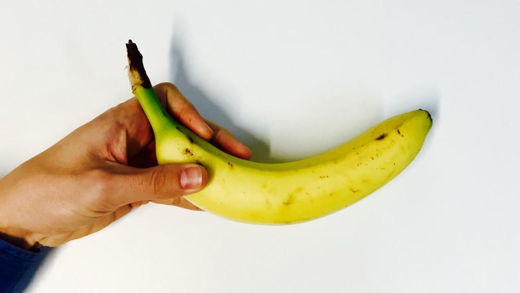 užkandžiai prieš sportą - bananas